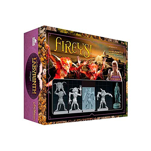 Crazy Pawn Dentro del Laberinto: Expansion Fireys [Castellano]