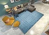 Chambre Ado Fille Cocooning Bureau De Chambre Enfant d'escalade Bleu Tapis Bleus Salon Chambre décorative rectangulaire Moderne Moderne Non déformée Decoration Chambre Ado Fille Pas Cher 50X80cm