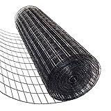 72 inch x 50 Foot Welded Wire - 14 Gauge - PVC Coated Black