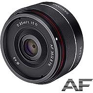 Samyang SYA3SE AF 35mm F2.8 FE Lente 35 mm per Sony E Full Frame, Diametro filtro: 49 mm, Nero