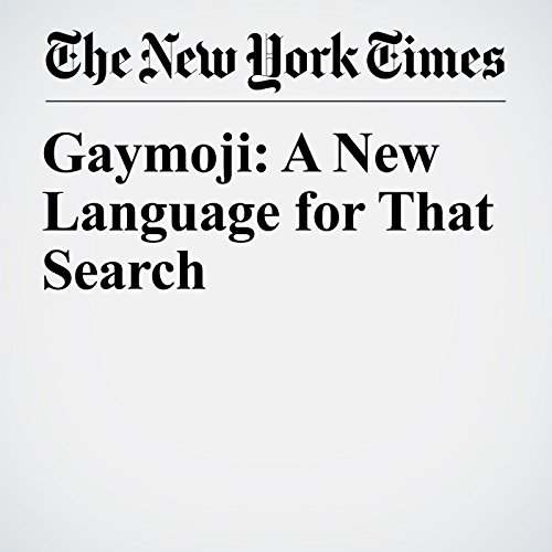 Gaymoji: A New Language for That Search copertina