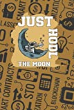 Crypto Currency Book   Just Hodl The Moon: 6x9   100 Pages   Cream Paper   Crypto password book for writing down your crypto wallet password and ... crypto coins in your crypto currency wallet.