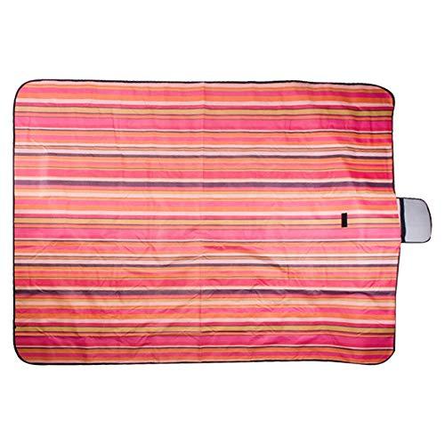 Qiuge Camping-Matte, 600D wasserdichte Oxford-faltbares Tuch im Freien Strand Picknick-Decke, Größe: 150 * 200 cm, zufällige Farblieferung QiuGe