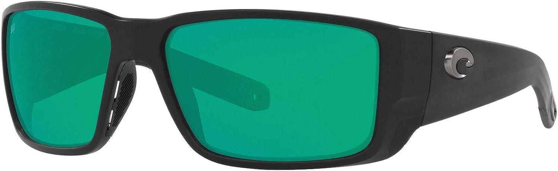 Costa Del Mar Men's 6s9078 Blackfin Pro Rectangular Sunglasses