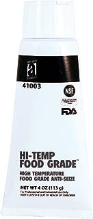 HI-Temp Food Grade 41003 Anti-Seize Compound, 4 oz, White, Paste