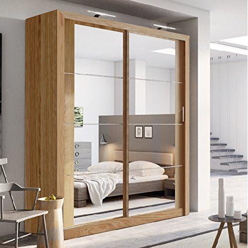Miraculous Oak Wardrobes Bedroom Furniture Amazon Co Uk Home Interior And Landscaping Ponolsignezvosmurscom
