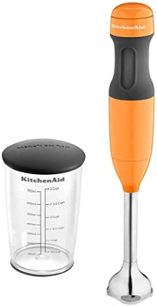 Mixer de Mão 2 Velocidades KitchenAid Tangerine - KEB35A8 - 127 V - 40,6x6,4 cm