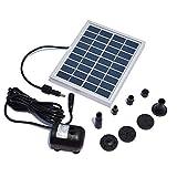 LWQ La Bomba Funciona con Energía Solar, Plantas De Energía Solar Sin Escobillas DC Fuente De Agua De La Piscina Jardín De La Bomba De Riego Kit Solar Kit De Bomba De La Charca