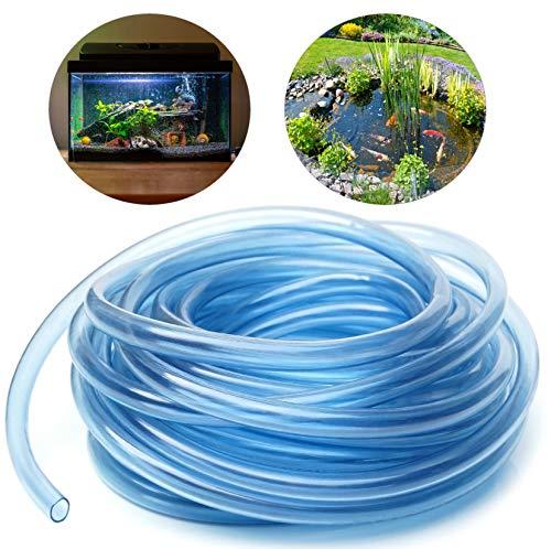 O&W Security 10 meter flexibele luchtslang slang 4/6 mm PVC voor aquarium vijverventilatie zuurstofpompen transparant