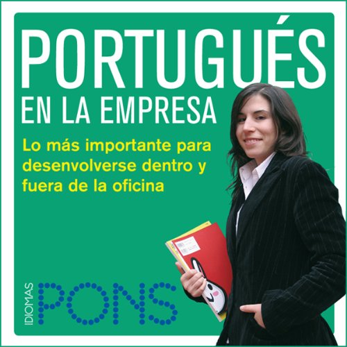 Portugués en la empresa [Portuguese in the Office] audiobook cover art