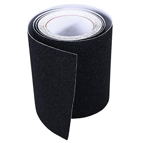 BESTOMZ 15CM x 5M Anti-Rutsch Band Aufkleber für Treppen Belag Streifen (schwarz)