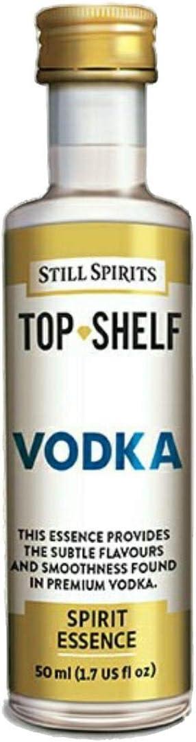 Max 59% OFF Still Spirits Top Shelf Essence Flavours Vodka Columbus Mall 2.25L