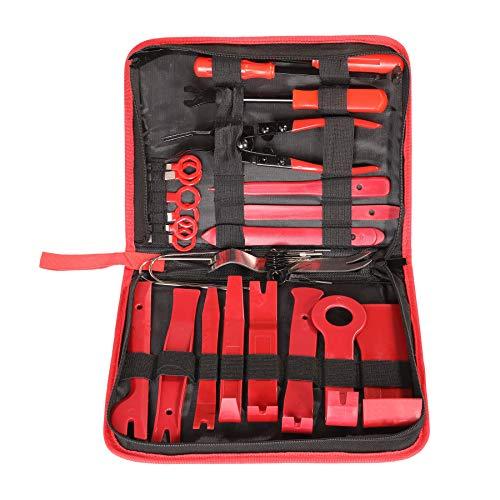 CO-Z Auto Demontage Werkzeug 35 tlg. Set Zierleistenkeil Montagehebel Kunststoffkeil PVC Montagekeil Removal Reparatur