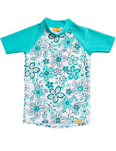 iQ-UV Mädchen Strand und Meer Schwimmen Shirt, Carib, 140