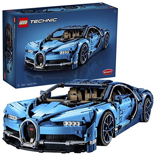 LEGO42083TechnicBugattiChiron, SetdeConstruccióndeCochedeCarreras,ModeloaEscaladeDeportivoColeccionable