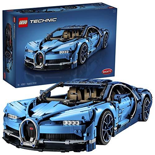 LEGO 42083 Technic Bugatti Chiron - Maqueta para Montar el Deportivo, Set de Construcción de Coche de Carreras, Modelo a Escala de Deportivo Coleccionable de Juguete