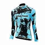 Uglyfrog 2018 Nuevo Bike Wear Winter with Fleece De Manga Larga Maillot Ciclismo Mujer Equipos Una Gran Cantidad De Colores ESHWLJW01