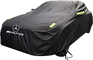 KTYXDE Special Vehicle CoverOxford Fabric Sun Protection Rain Cover for Mercedes - Mercedes CLS63AMG Car Cover (Size : Oxford Cloth - Built-in lint)