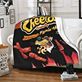 Ch-Ee-TOS Ultra-Soft Micro Fleece Blanket Home Decor Warm Anti-Pilling Flannel Throw Blanket for Couch Bed Sofa Living Room 50'x40'