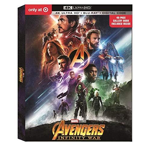 Avengers: Infinity War Target Bundle [Blu-ray]