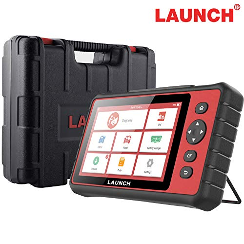LAUNCH Creader 909 Automotive Tool, Auto Scanner OBD2 Code Reader with 7'' Touch Screen for All Systems WiFi Car Scan Tool with 15 Reset Services Oil TPMS SAS Injector Reset IMMO Car Battery Tester