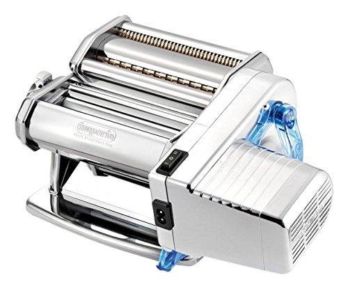 Imperia 650 Electric Machine Macchina per Pasta e raviolo, Acciaio Inossidabile