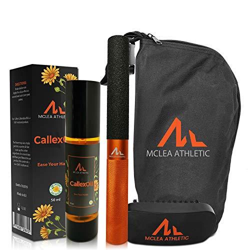 McLea Athletic CallexBar Kit KEINE AUFGERISSENEN HÄNDE MEHR Handpflege Set Crossfit schützt vor Rissen pflegt Hände auch bei Weightlifting olympisches Gewichtheben Powerlifting Klettern