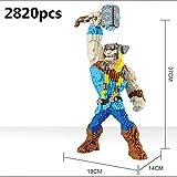 Zenghh 3Dモデルマーベル・シネマティック・ユニバースコミック地球の救世主小粒ビルダイヤブロック玩具の盾男スパイダーマン教育組立ブリックフライスーパーマンヒーローのジグソーパズル (Color : D)
