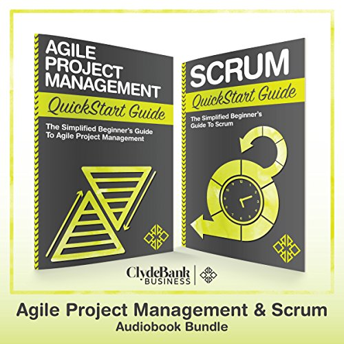 Agile Project Management & Scrum QuickStart Guides audiobook cover art