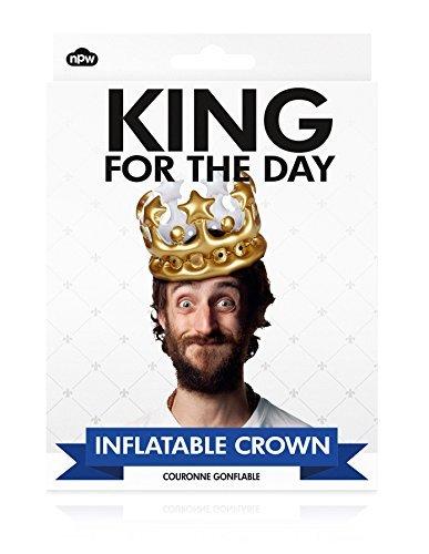 King gonfiabile per la corona, per bambini, ideale come regalo di compleanno