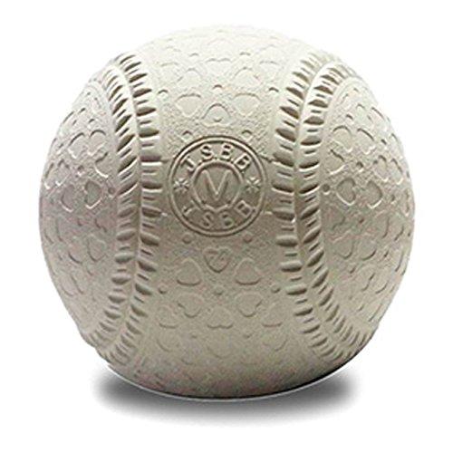 マルエス(MARUS) 軟式ボール M号(一般・中学生用) 1個 M-S-1