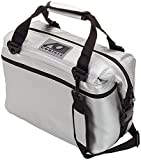 AO Coolers Carbon Soft Cooler with High-Density Insulation, Silver , 36-Can