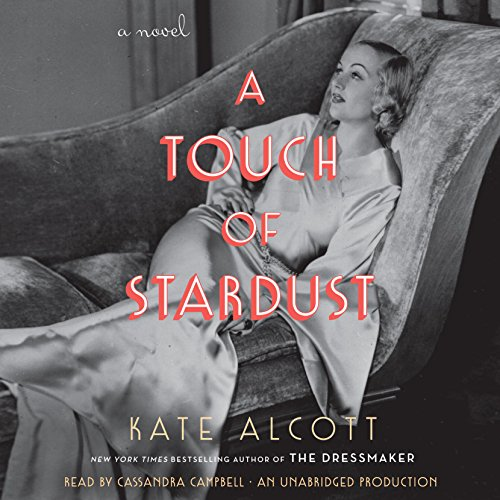 A Touch of Stardust audiobook cover art