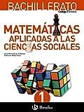 Código Bruño Matemáticas Aplicadas a las Ciencias Sociales 1 Bachillerato - 9788469609163