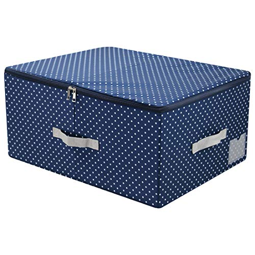 scatole per armadio rigide AMX Scatola di immagazzinaggio impilabile Lavabile in Nylon con Coperchio con Cerniera