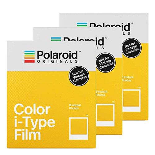 Polaroid Color i-Type Film 8pezzo(i) 88 x 107mm pellicola per istantanee