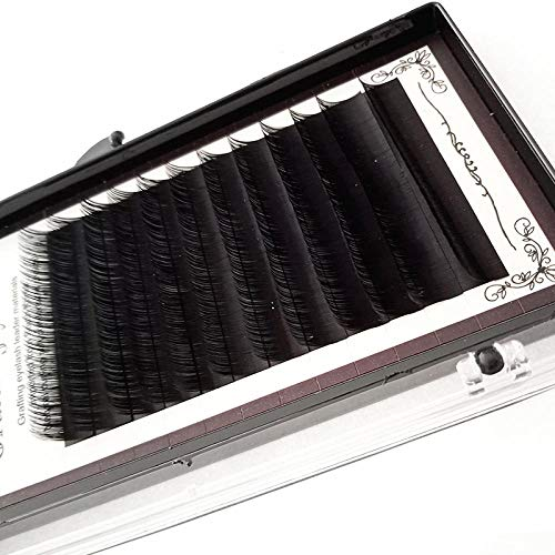 Falses Eyelash Extension Individual Single Grafting Eyelashes 0.12 Densely Packed With Protein Silk Densely Packed Soft And Long Natural Fit for All Eyes for a Beautiful Makeup Look 13mm