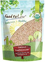 Organic Whole Wheat Bread Flour, 2 Pounds - Whole Grain, Stone Ground, Unbleached, Non-GMO, Kosher, Unbromated, Raw, Vegan, Bulk, Product of the USA