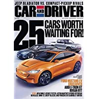 Car & Driver Magazine Subscription 1 Yr 12 Issues