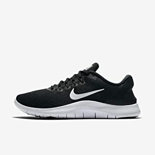 Nike Women's Flex 2018 RN Running Shoes (6 B(M) US, Black/White-Black)