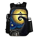 The Starry Night Packable Backpack Travel Hiking Daypack Waterproof Foldable Camping Outdoor Travel Packbag