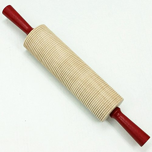 Bethany Housewares Lefse Rolling Pin, Square Cut