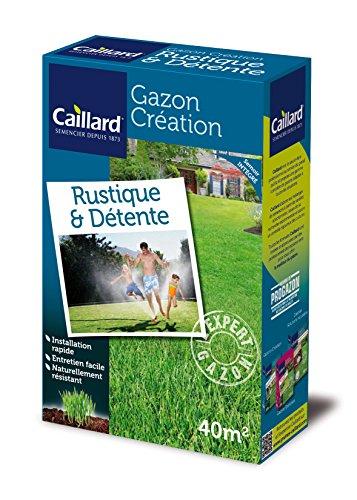 Caillard PFSA19776 Graines de Gazon Rustique et Détente 1 kg 40 m²