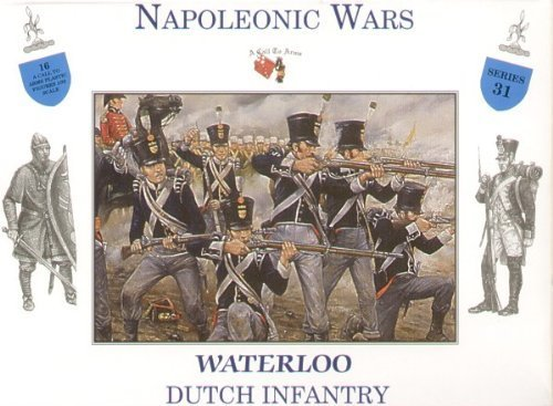 Dutch Infantry at Waterloo - 1/32 Plastic Soldier Kit by A Call To Arms