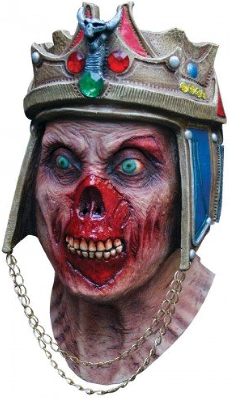 Dead King Head & Neck Mask   Fancy Dress Costumes (Halloween Outfits)