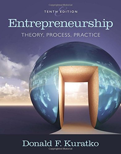 Entrepreneurship: Theory, Process, and Practice by Donald F. Kuratko (2016-01-22)