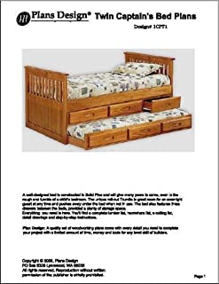 child bed plans woodworking