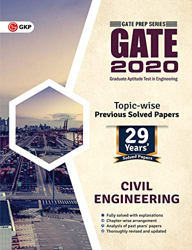 GATE Civil Engineering 29 Years Topic-Wise Previous Solved Papers