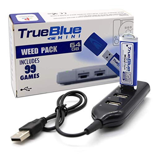 The perseids Mini Weed Pack con 64G 99 Giochi per Playstation Classic