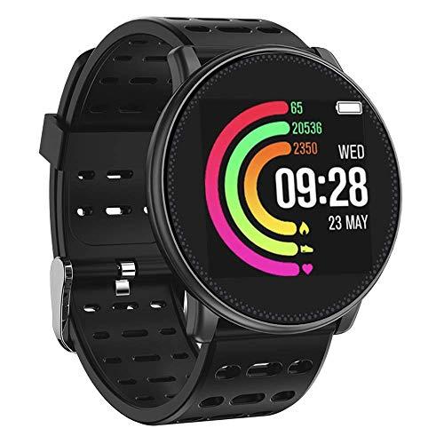 UMIDIGI Fitness Tracker Monitor de Ritmo cardíaco Pulsera Inteligente Monitor de Actividad Bluetooth Podómetro con Monitor de sueño para Smartphones con Android o iOS.